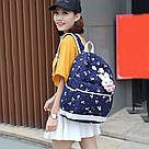 БРАК. Рюкзак набор для девочки 4 предмета (сумка, клатч, пенал) Брак., фото 7