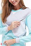 Хлопковый костюм для беременных и кормящих OLBENI ST-39.012, фото 3