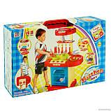 ✅Детская кухня 008-58A/928051 электронная, свет, звук, собирается в чемодан, фото 5