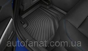 Оригинальные резиновые задние коврики BMW 3 (G20) (51472461169)