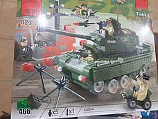 Конструктор Tanks из серии Combat Zones Brick, модель 823, фото 3