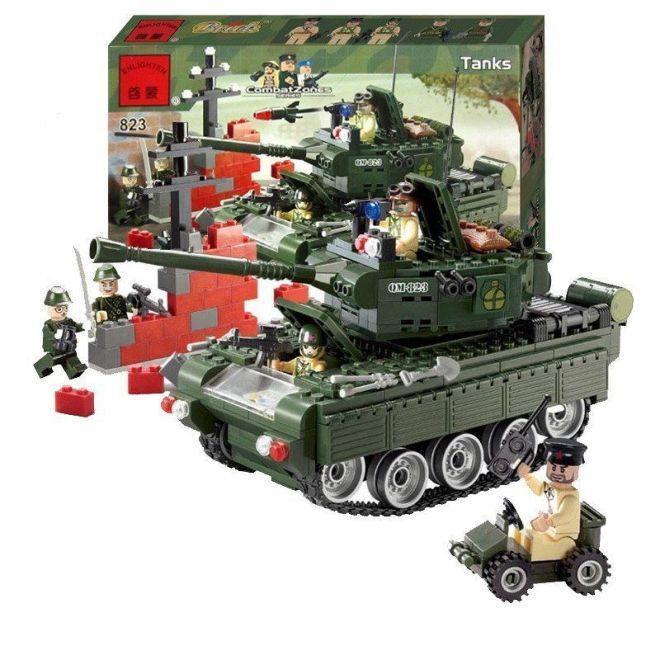 Конструктор Tanks из серии Combat Zones Brick, модель 823