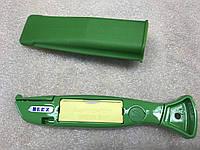 Нож зелёный дельфин с 10 двойными лезвиями, Herz с крючкообразными Herz Германия., фото 1