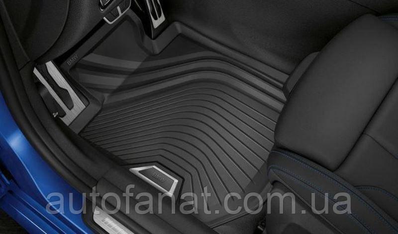 Комплект оригинальных резиновых коврики BMW 3 (G20) (51472461168 / 51472461169)