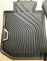 Комплект оригинальных резиновых коврики BMW 3 (G20) (51472461168 / 51472461169), фото 4