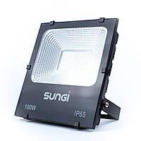 Светодиодный уличный прожектор 100W 6500K Sungi