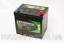 Акумуляторна батарея ENERGY JIS 6СТ-60 (0)