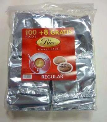 Кофе в чалдах Rico Regular (17 монодозы) Philips Senseo (62 мм) -  Нид