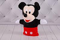 Игрушка рукавичка для кукольного театра, Микки Маус, Минни Маус, Mickey, Minni Mouse, кукла перчатка на руку, фото 1