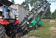 Оборудоваие экскаватора цепного (траншеекопатель, грунторез) ЭЦ-1800 (лето)