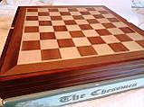 Шахматы металлические 50*50 см Воины Света и Тьмы на деревянной доске, фото 7