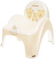 Горшок-кресло Tega Музыкальный горшок-кресло Mis PO-043 beige pearl