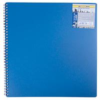 Тетрадь на пружине Buromax Classic A4 80 листов клетка синяя
