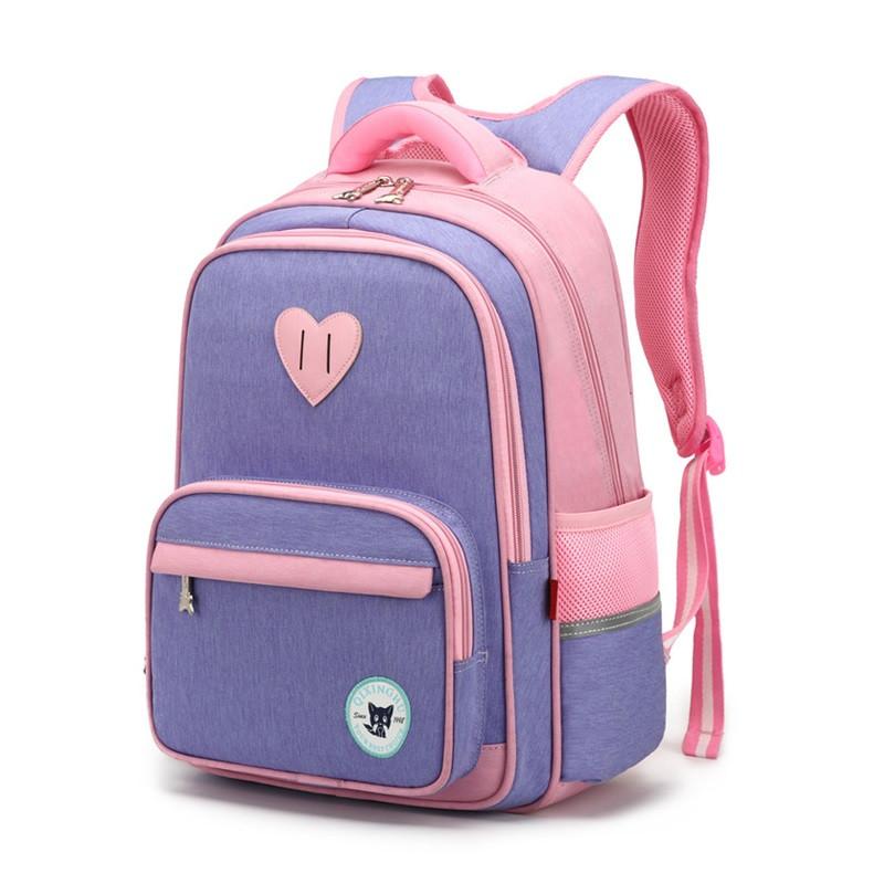 """Детский школьный рюкзак """"Лисенок"""" из прочной водоотталкивающей ткани, 18л"""