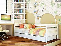 Детская деревянная кровать из массива дерева -Нота 80*190, 90*200