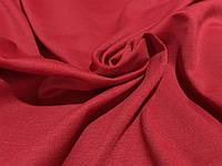 Ткань французский трикотаж красный класический