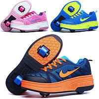 Роликовые кроссовки на 1 и 2 роликах Хилисы детские и подростковые. Премиум качество!