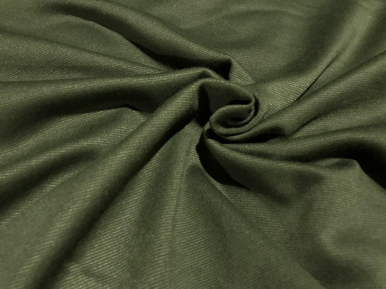 Ткань французский трикотаж хаки