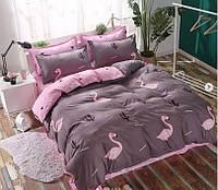Комплект постельного белья двуспальный, 180*220, сатин, (620.1901)