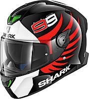 Мотошлем SHARK SKWAL 2 Lorenzo Replica (чёрный)