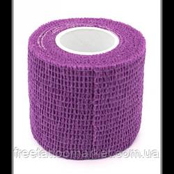 Бандажный бинт для тату держателя Фиолетовый