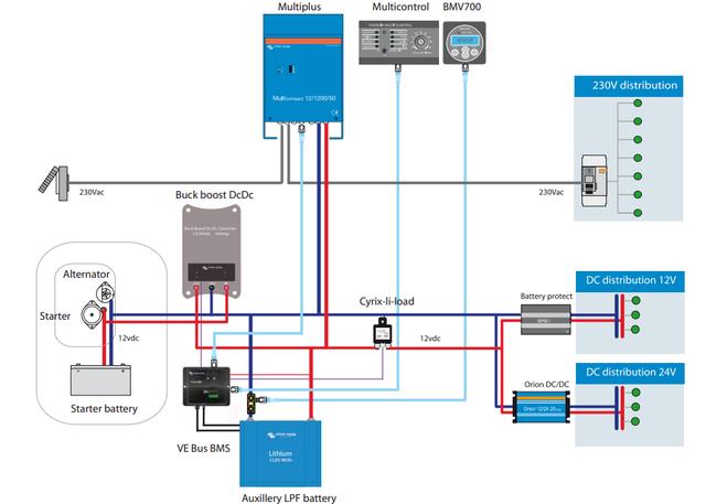 Схема підключення Buck-Boost DC-DC Converter