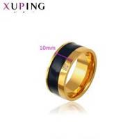 Кольцо ХР позолота 18К с эмалью,фианит 2*2 мм.вес 8,2 г. размер 20.