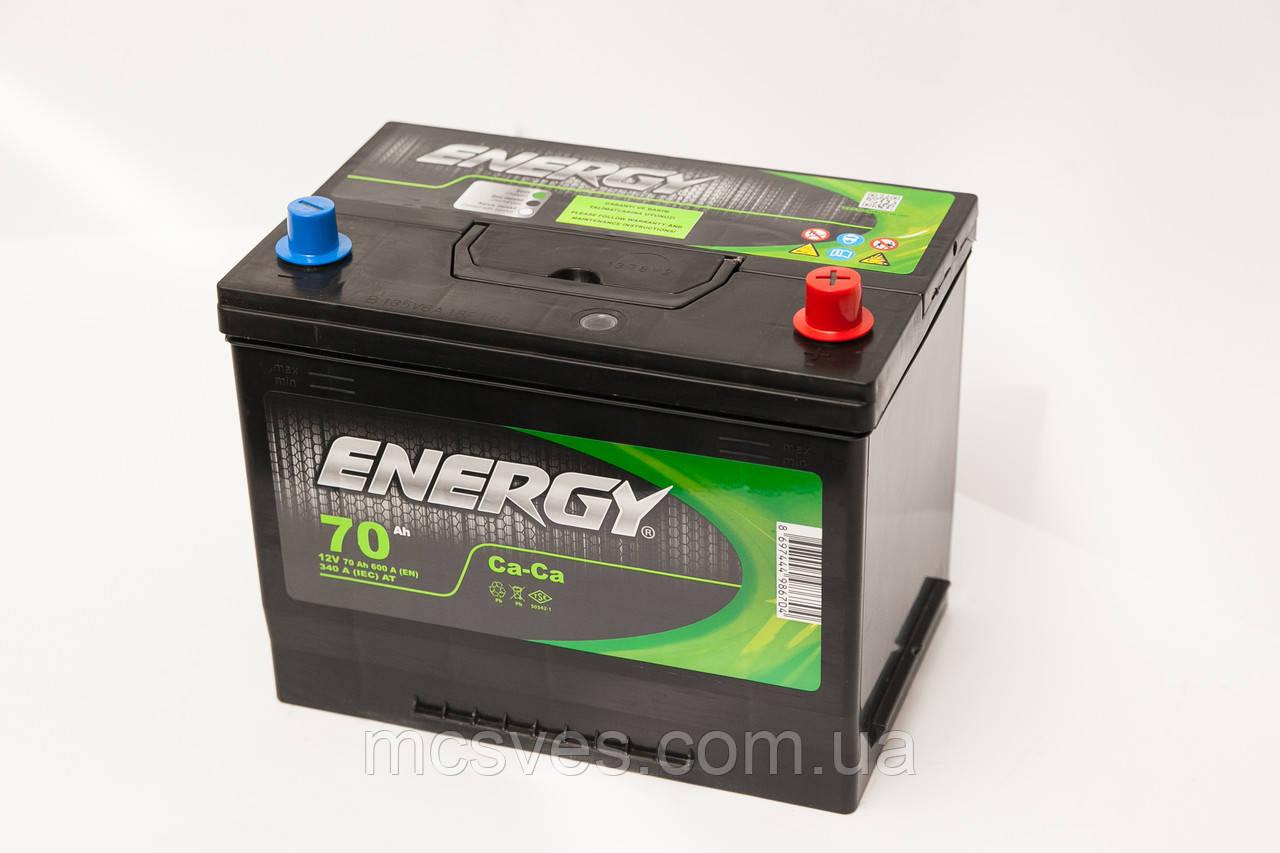 Акумуляторна батарея ENERGY JIS 6СТ-70 (1)