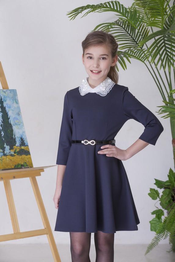 Детское школьное платье для девочки от Deloras 61745   134-170р.