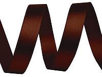 Лента атласная коричневая  25мм