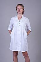 Женский медицинский халат свободного кроя 2117