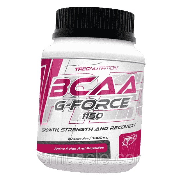Аминокислоты Trec Nutrition BCAA G Force 90 caps