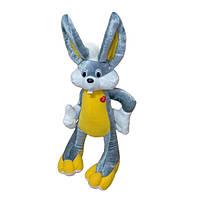Мягкая игрушка Заяц Багз Банни мини серый
