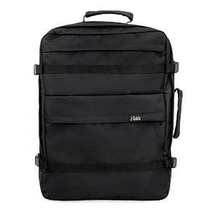 Ручная кладь рюкзак чемодан WASCOBAGS Traveller 55x40x20 см. Черный