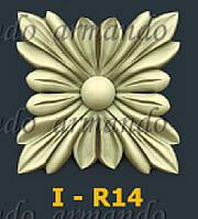 Деревянная Резная Розетка  I - R14