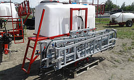 Обприскувач навісний 1000 л гідравлічна штанга 18 м Польща, фото 3
