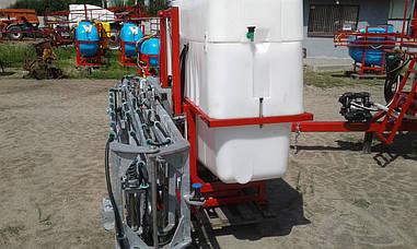 Обпріскувач навісній 1000 л гідравлічна штанга 18 м Польща