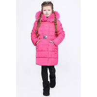 Детская зимняя куртка X-Woyz DT-8296-9 (Фуксия)
