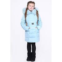 Детская зимняя куртка X-Woyz DT-8296-7 (Мята)