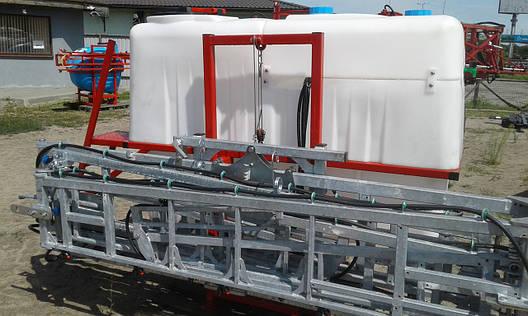 Обприскувач начіпний 1000 л гідравлічна штанга 18 м Польща, фото 2