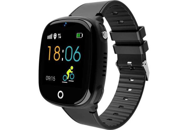 Детские умные часы Smart Baby Watch HW11 Black с камерой,водонепроницаемые ip67