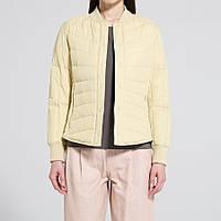 Женская желтая легкая куртка на пуху Uniqlo, фото 1
