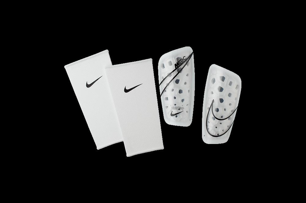 Щитки футбольные Nike Mercurial Lite SP2120-104 Белый Размер XS (193145983557)