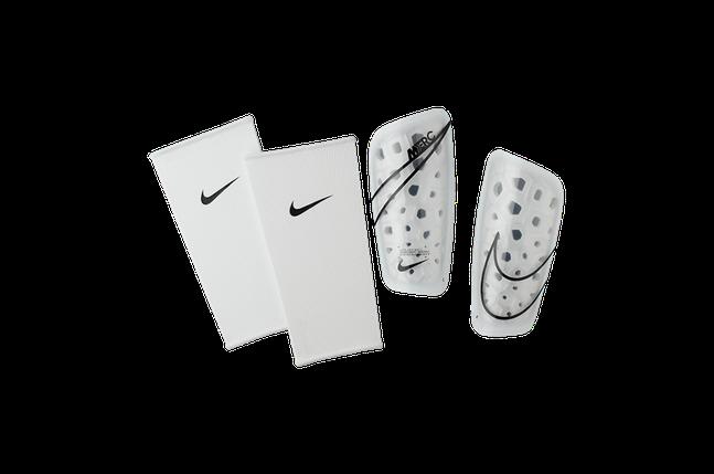 Щитки футбольные Nike Mercurial Lite SP2120-104 Белый Размер XS (193145983557), фото 2