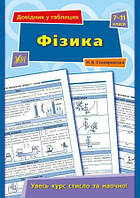 Довідник у таблицях: Фізика. 7–11 класи 23,5*16,5см, УЛА