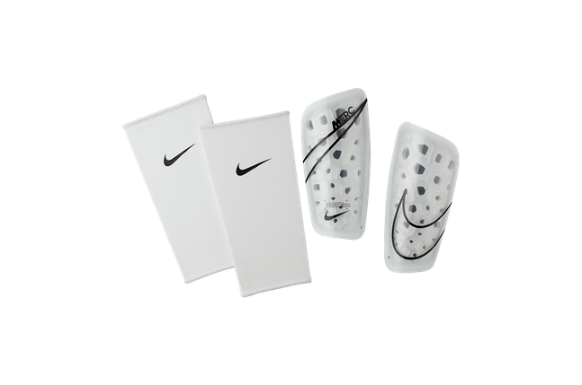 Щитки футбольные Nike Mercurial Lite SP2120-104 Белый Размер M (193145983571), фото 2