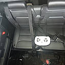 Джип электромобиль красный двухместный деткам 3-8 лет с пультом, аккумулятор 1*12V10AH, мотор 2*40W с МР3, фото 3