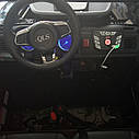 Джип электромобиль красный двухместный деткам 3-8 лет с пультом, аккумулятор 1*12V10AH, мотор 2*40W с МР3, фото 2
