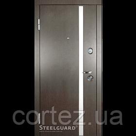 Входные двери AV-1 с накладками МДФ двухцветные