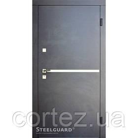 Входная дверь ТМ Стилгард Vei двухцветная